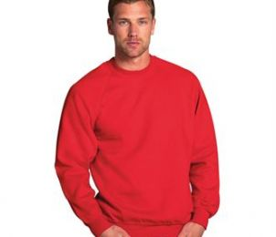 SWEAT COL ROND - 7620M - COTON - POLYESTER - 295 GR/M²